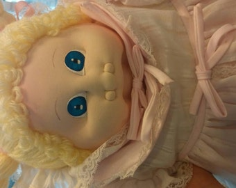 The little people soft sculpture will 1978. Cabbage patch doll.