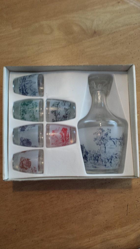 crystal decanter set from verrerie cristallerie d 39 arques. Black Bedroom Furniture Sets. Home Design Ideas