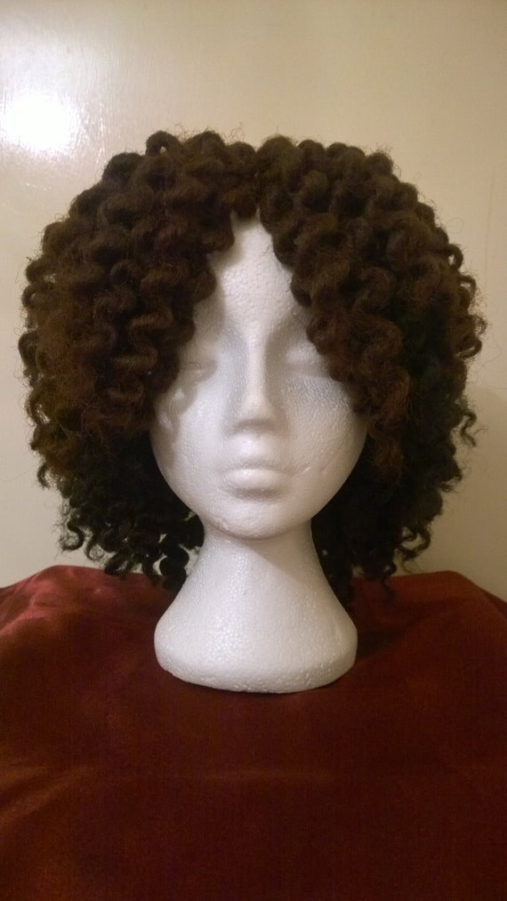Crochet Wig : MARLEY BRAIDS, Twist Out, Hair, Crochet wig, wigs, wig, with Middle ...