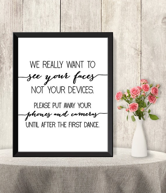 ... DIY / Trendy Calligraphy Sign / Printable PDF Poster Instant