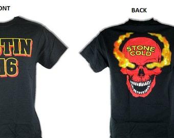 Stone Cold Steve Austin 3:16 Red Skull Fire