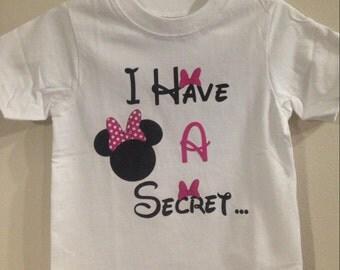 Secret big sister shirt