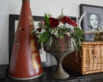 Trench Art Vase