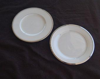 Lenox Bread Plates Montclair Set of 2