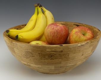 Salad Bowl, wood turning, bowl, fruit bowl, Decorative bowl, Wooden bowl, Segmented Wood bowl, House warming, wood turning, Wedding gift