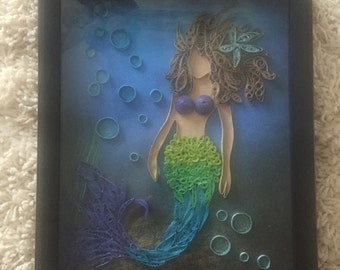 Quilling wall art, quilled wall art, paper quilling , paper quilled art, quilling, quilling paper