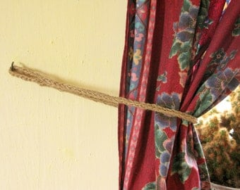 Jute Curtain Holder / 100% natural materials / Ready to ship