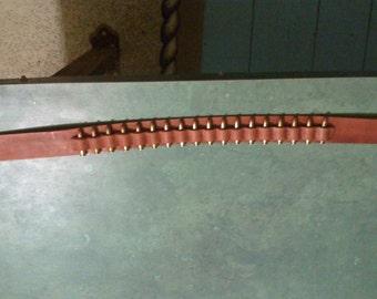 Holster Belt with Bullet Holders