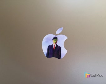 Son of Man Glowing Backlit Apple Logo for MacBooks 2 Decals per Order