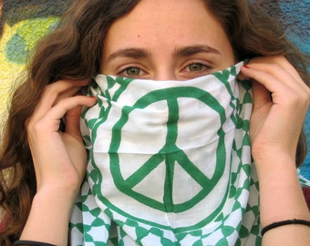 Green Peace Keffieh-Talit - sarong size