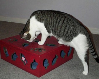 Interactive Kitty Toy Box to keep your cat entertained