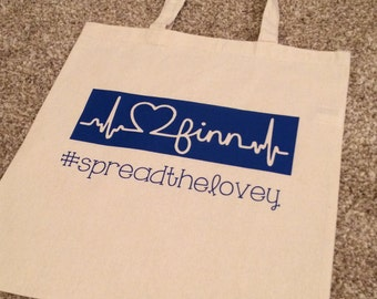 Finn Tote Bag {100% of proceeds to support the Blumenthal Family}