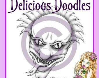 Digital Stamp - Evil Carnival Clown