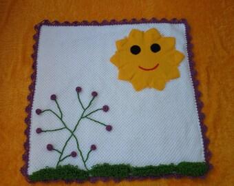 sun baby blanket