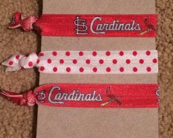 St. Louis Cardinals Elastic Hair Ties