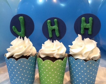 The Josette Cupcake Toppers