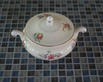 Household Institute, Priscilla pattern, Sugar Bowl w/ Lid