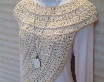 Katniss Inspired Cowl Vest
