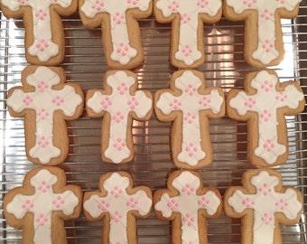 Cross cookies! Communion/confirmation/etc