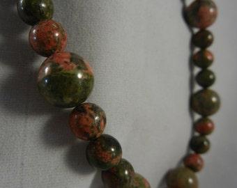 Green Unakite Necklace