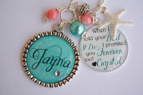 Personalized Step Daughter Half Sister Gift Beach Wedding When I told ...