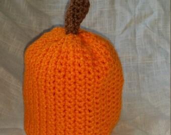 Child Pumpkin Hat