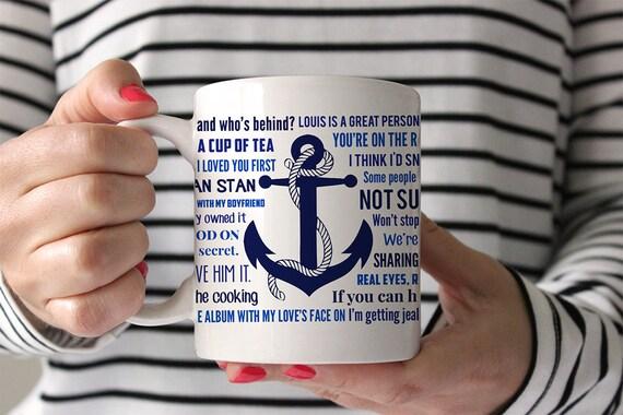 Coffee Mug Larry Stylinson Quotes Mug - Version 2