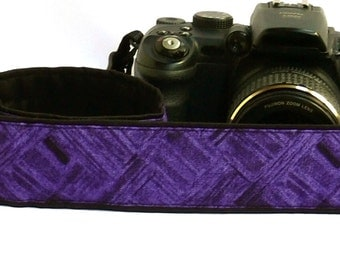 Purple Camera Strap. DSLR SLR Camera Strap. Camera Strap. Camera Accessories