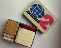 Vintage Diascop Set of 19 Slides 35mm DIapositives, Plastic Vintage Finds Diascope
