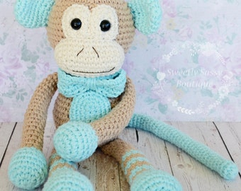 Crochet Monkey - Made To Order
