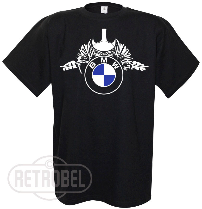 mens t shirt bmw motorcycles black cafe racerclassic. Black Bedroom Furniture Sets. Home Design Ideas