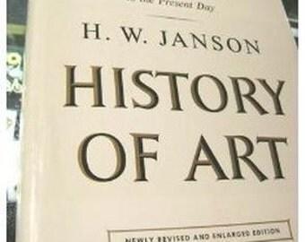 History of Art J.W. Hanson 1971