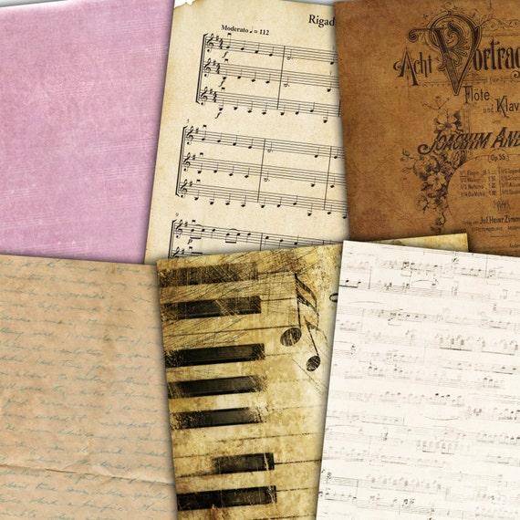 Vintage Sheet Music - amazoncom