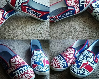 Painted Texan Shoes