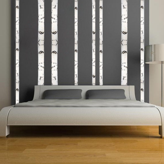 birch tree wall mural decal beautiful birch tree by primedecal
