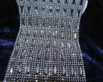 "Oblong Diamond Mesh - 4.5"" Wide (11.25 cm) -Many Designs & Colours"