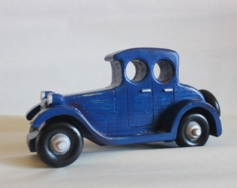 Wooden Toy Car - Sedan