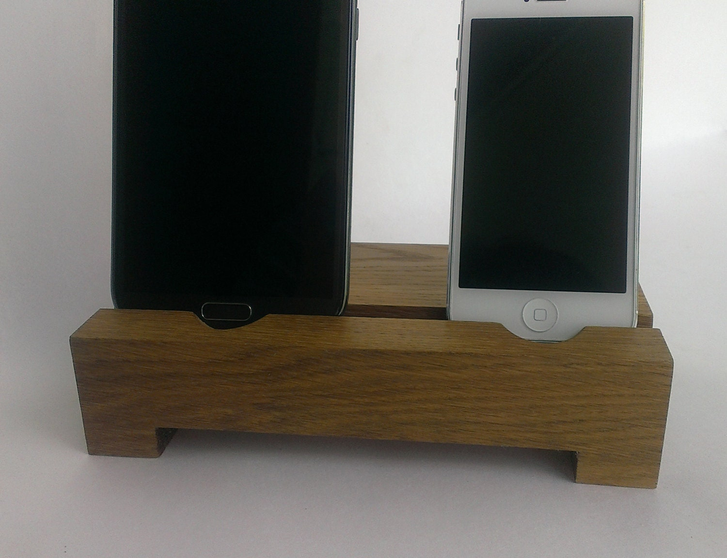 iphone desk stand dual iphone samsung wood desk stand holder smartphone 11799