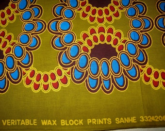 1/2 Yard Cut - African Wax Print