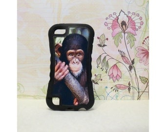 Chimpanzee - Rubber iPod Touch 5 (5th gen) Case