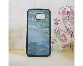 Water Lilies (Monet) - Rubber Samsung Galaxy S3 S4 S5 S6 Case
