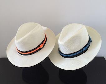Nautical Panama Hat
