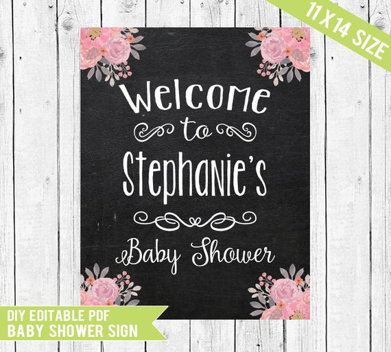 baby shower welcome sign welcome sign baby shower sign baby shower