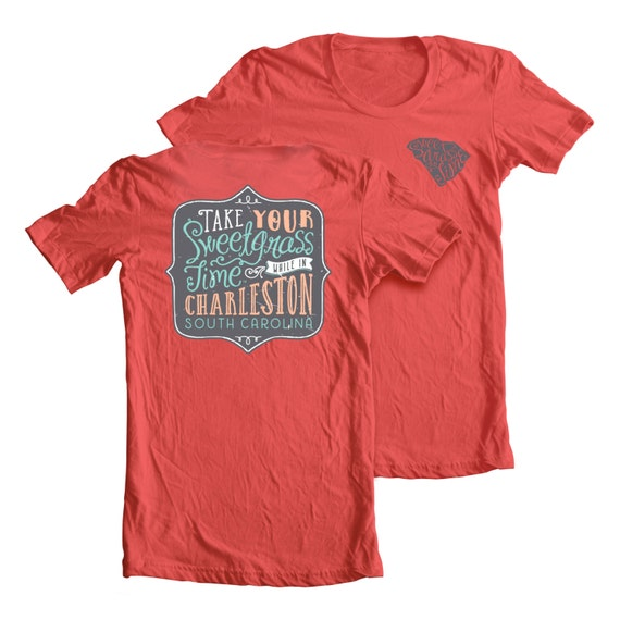 Charleston south carolina t shirt southern cotton t shirt for T shirt printing charleston sc
