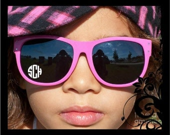 Set of 4 - Personalized Monograms for Your Sunglasses
