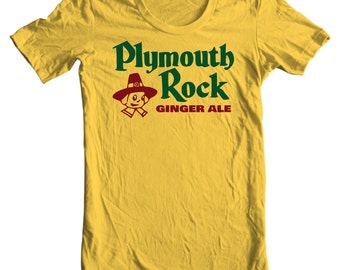 Plymouth Rock Ginger Ale Vintage Bottle Cap T-shirt