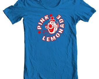 Pink Lemonade Circus Clown Vintage Bottle Cap T-shirt