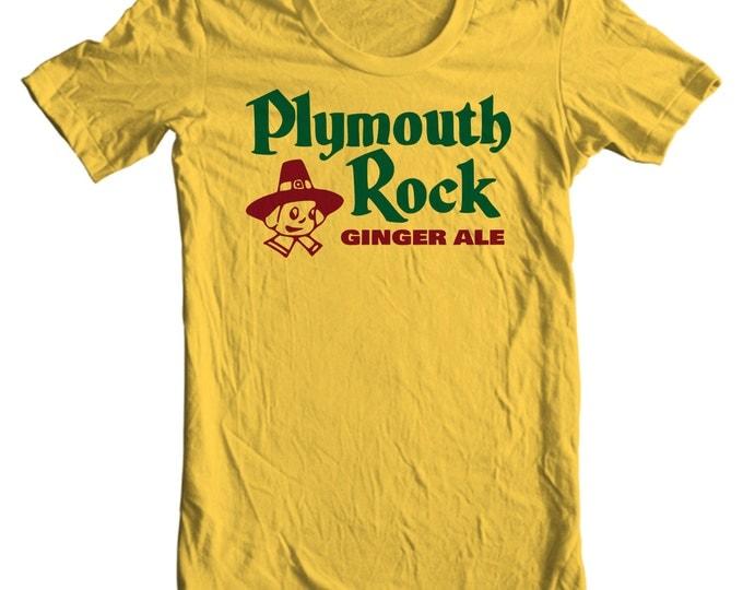 Plymouth Rock Ginger Ale Vintage Bottle Cap T-shirt