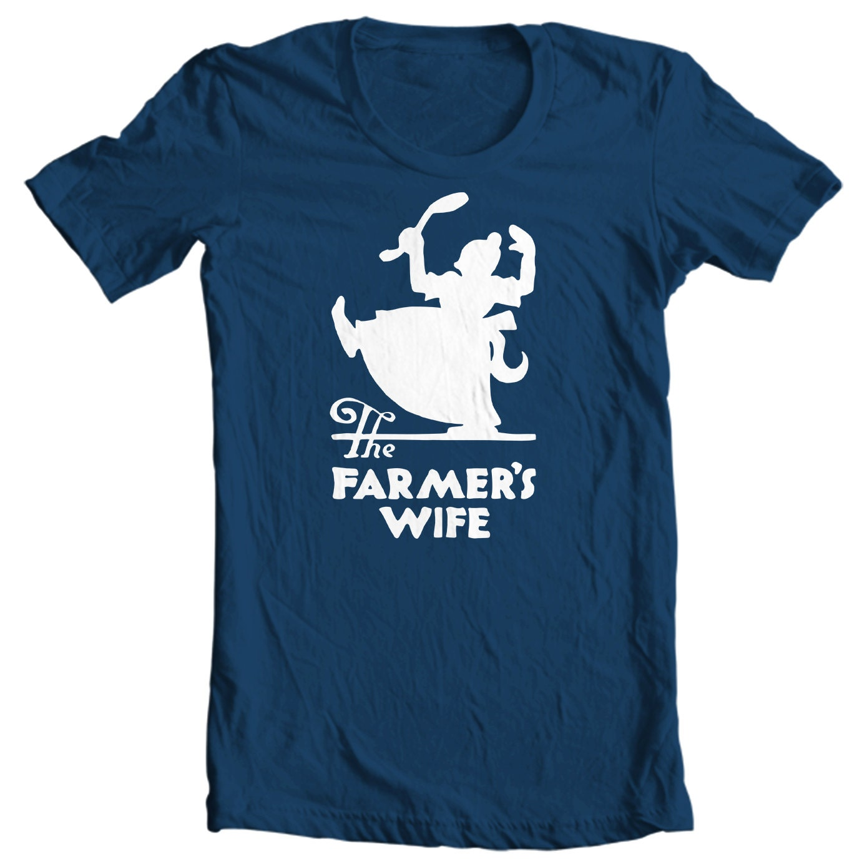 Farmer's Wife Restaurant Vintage Matchbook T-shirt