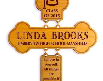 Custom Graduation Gift from Aunt and Uncle , Personalized Gift for Graduation, Congratulation Gift , College Graduation Gift, Proud of you.